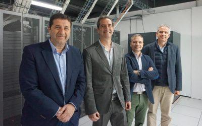 Representantes de Exact Software visitan las instalaciones del Cloud DataCenter de DANTIA Tecnología