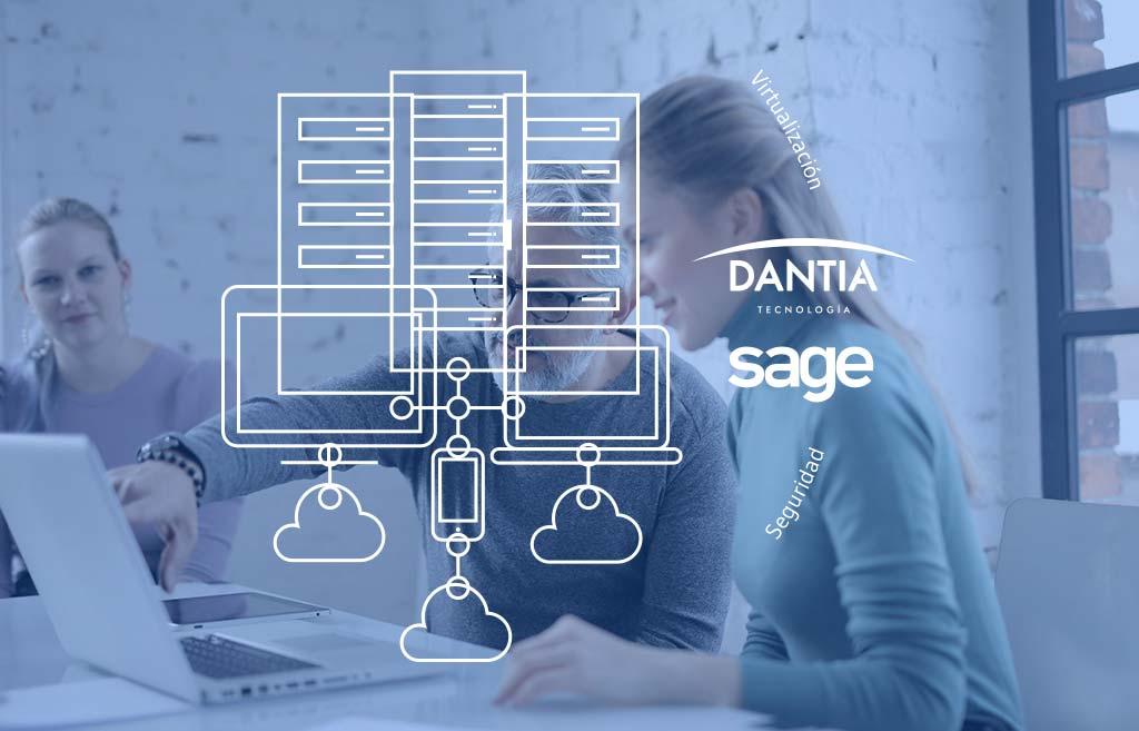 DANTIA despliega sus Servicios Cloud especializados en Sage para empresas y despachos profesionales