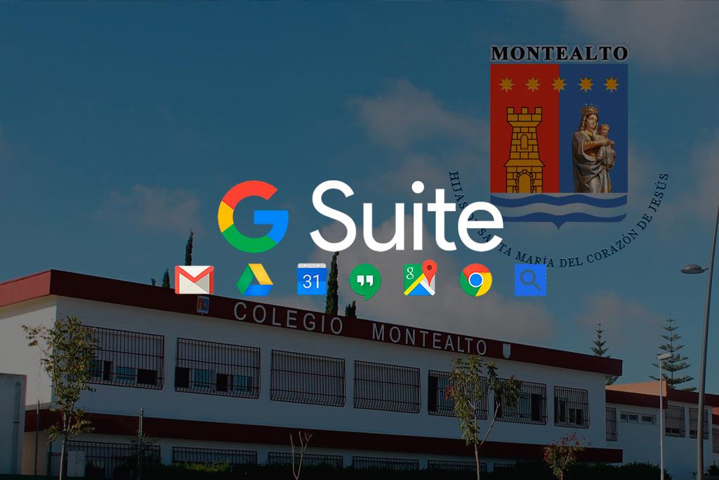 """El Colegio Montealto de Jerez confía en DANTIA para desplegar """"G Suite for Education"""" como ayuda al profesorado"""