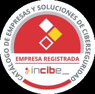 DANTIA Tecnología Empresa Registrada en INCIBE